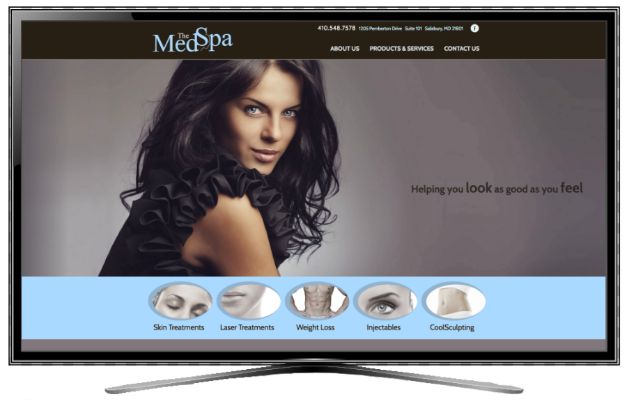 The Med Spa Screen Shot